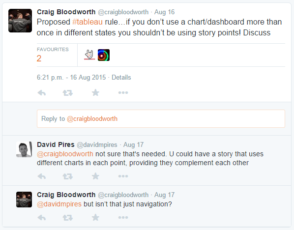Craig on Twitter