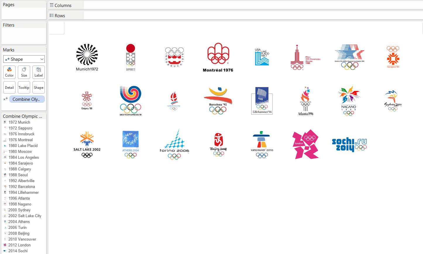 Olympics Dashboard 01