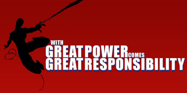 With Great Power Image
