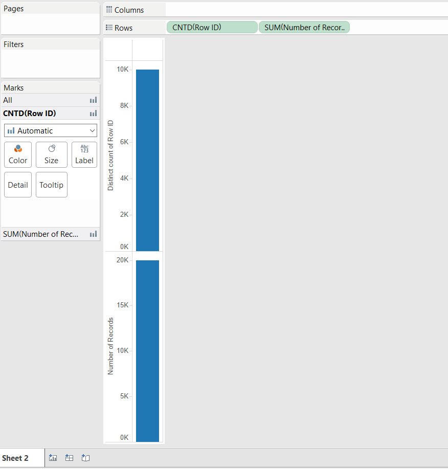 Duplicates screenshot