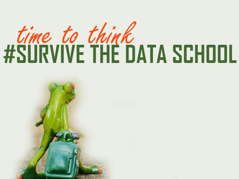 survive the data school