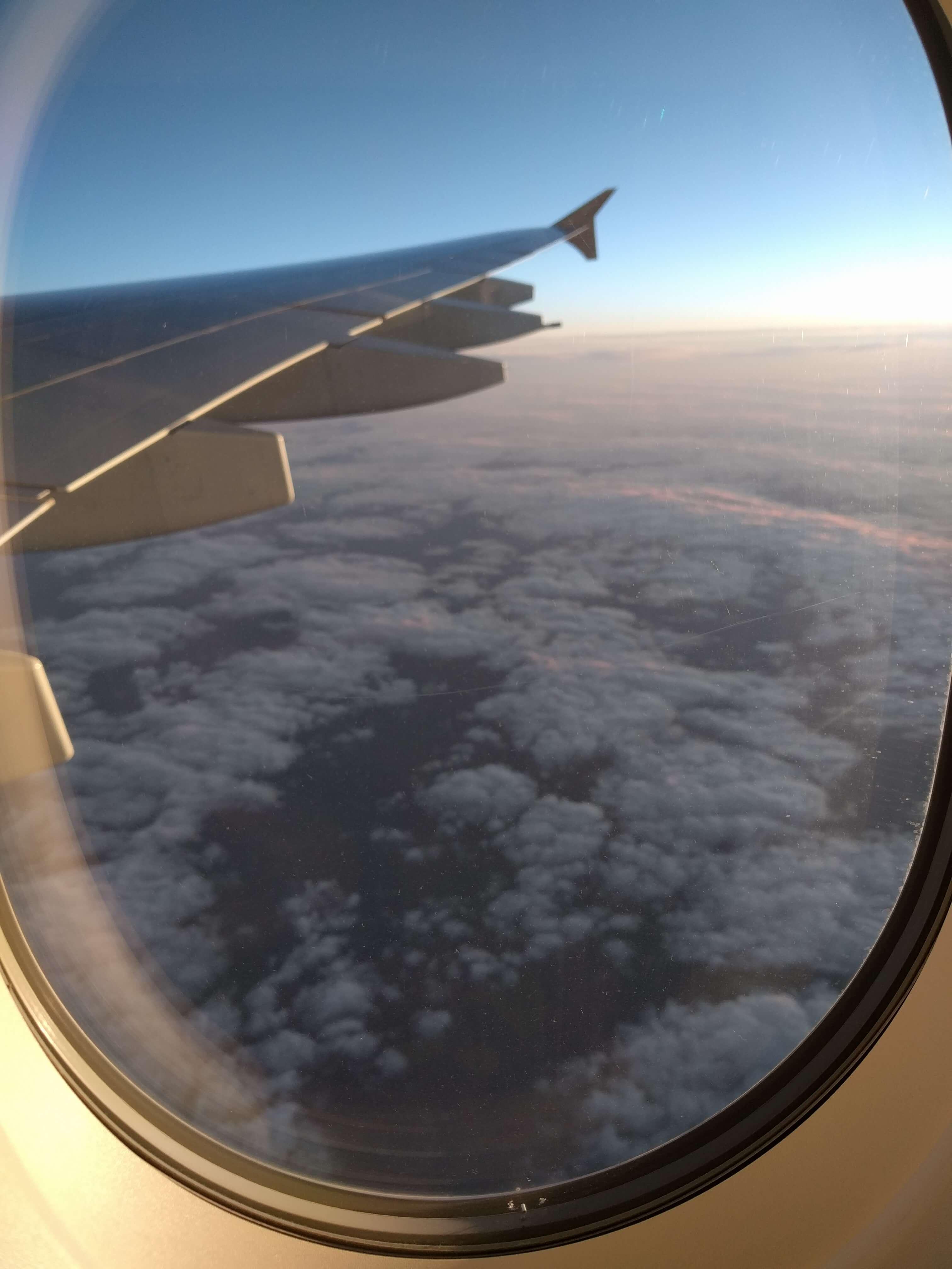 High above Australia