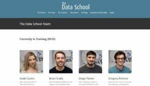 Data School website